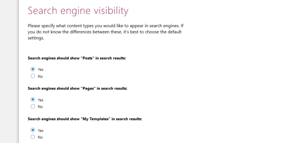 search engine visibility in seo wizard