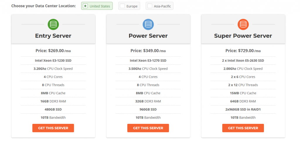siteground dedicated server